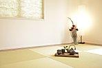 続き間、洋和室で広々使える空間設計