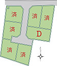 全7区画の開発分譲地
