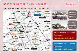 グレイティア上福岡(鶴ケ岡) 【全17区画】 駅徒歩14分:案内図
