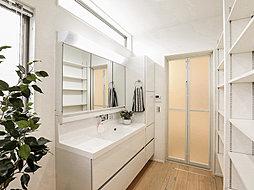洗面室施工例