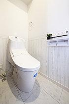 【A号地モデルハウス】高機能トイレも標準装備です