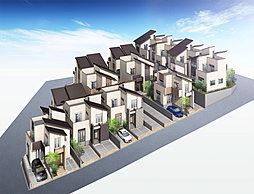 ドリームハウス東石切【長期優良住宅】東大阪を一望できるスカイバルコニー付の開放感のある家の外観