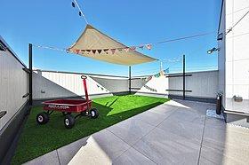 【施工例】交野市倉治プロバンス風モデルハウスの外観