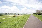 休日は江戸川の河川敷でランニングやサイクリングでリフレッシュ♪