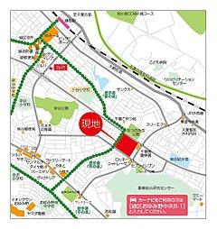 街づくりが進む全133区画のビッグタウン グランファミーロおゆみ野 第3期・4期:案内図