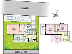 2780万円で敷地約60坪、限定1区画~レオガーデン夏見台~望(のぞみ)の丘