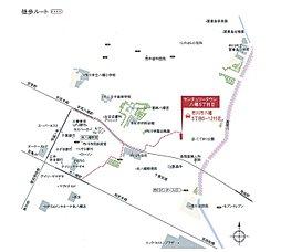センチュリータウン八幡5丁目II(全3区画):案内図