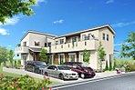 ●限定2区画の新規宅地分譲、今回販売区画はゆとりの敷地46坪カースペース3台確保できます。