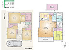居室それぞれに収納が付いているので収納力は抜群です。2階リビングは日当たり良好、家族で集まり団らんするのに最適です。