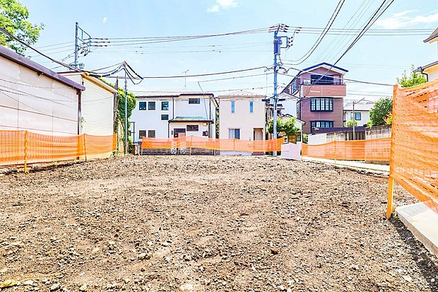 須賀町 条件付売地 落ち着いた雰囲気の住環境&高台 陽当たり良好