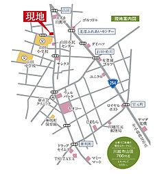 【GrandOpen】コンコード山田【全15区画・建築条件付土地】~充実の生活施設環境に誕生~:案内図