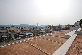 【建築条件無し売土地】 南向き 高台につき眺望が素晴らしいです