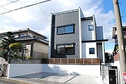【屋上庭園付き住宅】一社駅2の家【クレストンホーム】の外観