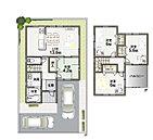 広々とした敷地に4LDKの空間設計