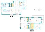 (9号地)、価格4100万円(消費税・外構費込み、家具・照明・カーテン付き)、4LDK、土地面積170.35m2、建物面積102.18m2