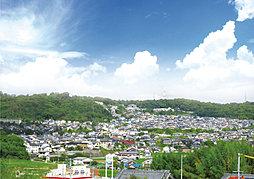 【日本中央住販】ハートフルビレッジ西登美ヶ丘 全22区画 南向...