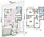 14号棟 4LDK(フレックスウォールは有償オプション) 土地130.34m2 建物101.70m2 4998万円