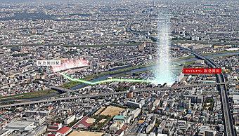 阪急「園田駅」より徒歩8分で拡がる、利便性と潤いに包まれた暮らしを叶えるスマイルタウン阪急園田。