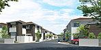 A-6号地 建物参考プラン 土地・建物セット参考価格4306万円 広々としたLDKにセンターテラスを配したゆとりの空間を叶えたプラン。