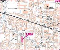 グランステージ大和高田:案内図
