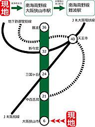 セルファ青葉丘ヒルサイドガーデン【全12区画】:案内図