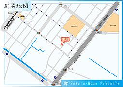 セルファ堺新在家町東:交通図