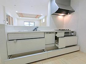 システムキッチン (ビルトイン食器洗浄乾燥器付き)