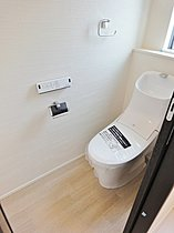 【トイレ】 家計にも環境にも優しい節水型トイレ!