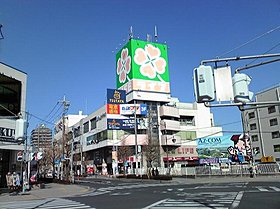 ライフ吉川駅前店:徒歩5分