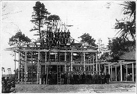 創業時から蓮田・白岡・大宮周辺を中心に神社や仏閣を建築
