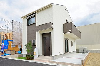 第3期モデルハウスの外観です。