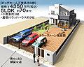 全邸5LDK、ウッドハウス付 土地【B邸約70坪 C邸30坪】我孫子駅歩約10分