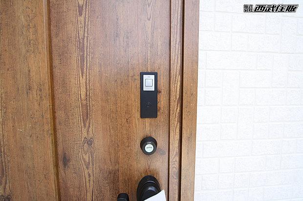 【【電気錠スマートコントロールキー】】ワンタッチで開錠できるので操作性に優れています。