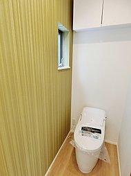 ウォシュレットがついた機能的なトイレを予定しております。