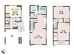 (2号棟)、価格3600万円、2LDK+S、土地面積44.31m2、建物面積91.49m2
