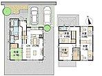 2号地:平成28年10月完成、可動間仕切採用の住宅。