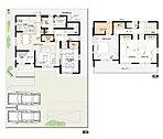 21号棟:敷地面積/200.21m2(60.56坪) 建物面積/115.48m2(34.85坪)