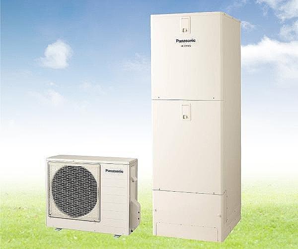 【【Panasonic】電気給湯器エコキュート】エコキュートは、空気の熱を利用してお湯を沸かす環境に優しい給湯器です。マイコン制御湯沸かしでいつでもお湯たっぷり! 370リットルのフルオートタイプ!(同仕様)