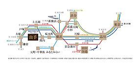 JR京浜東北線・根岸線で都心へアクセス!