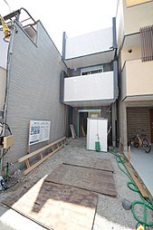 N・ist阪南町3丁目~2階に水廻りを集めた大型収納がある4L...
