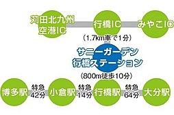 サニーガーデン行橋ステーション:案内図