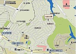 サニーガーデン光貞台3期:案内図
