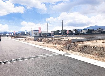 分譲地現地写真(平成30年3月1日撮影)