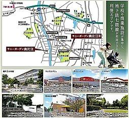 サニーガーデン南片江:案内図