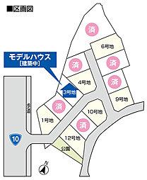 【パナホーム】 グリーンガーデン尾倉 / 土地分譲:案内図