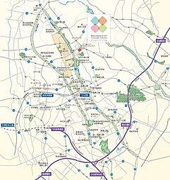 【ミサワMJホーム】ウェルネスシティつくば桜 建売街区:案内図