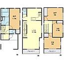 (1号棟)、価格3630万円、2LDK+2S、土地面積63.56m2、建物面積107.76m2