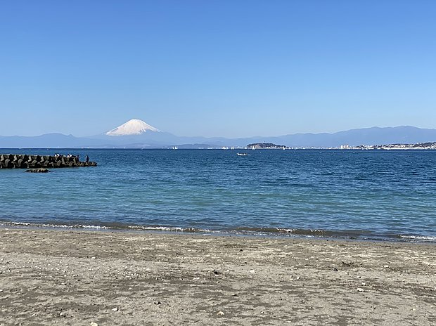 森戸海岸まで徒歩8分!富士山や江の島を見渡せます!