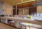 キッチン&コミュニティーカウンター(加守IIモデルハウス)