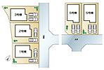 全体区画図 全7邸